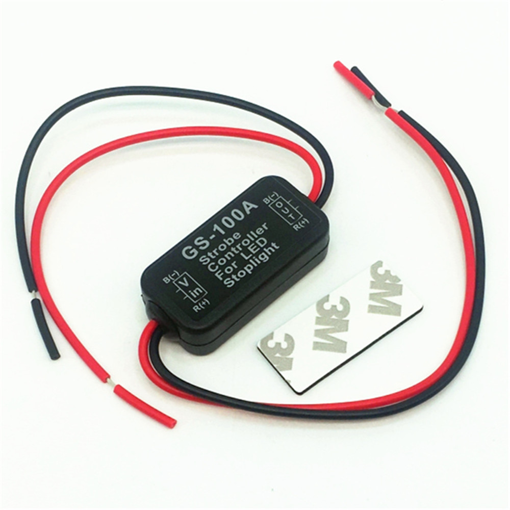 6V-30V car motorcycle GS-100A LED high brake light controller
