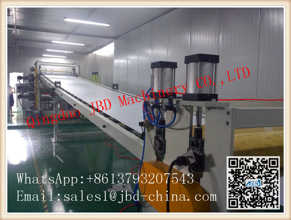 ABS/PMMA transparent sheet production line