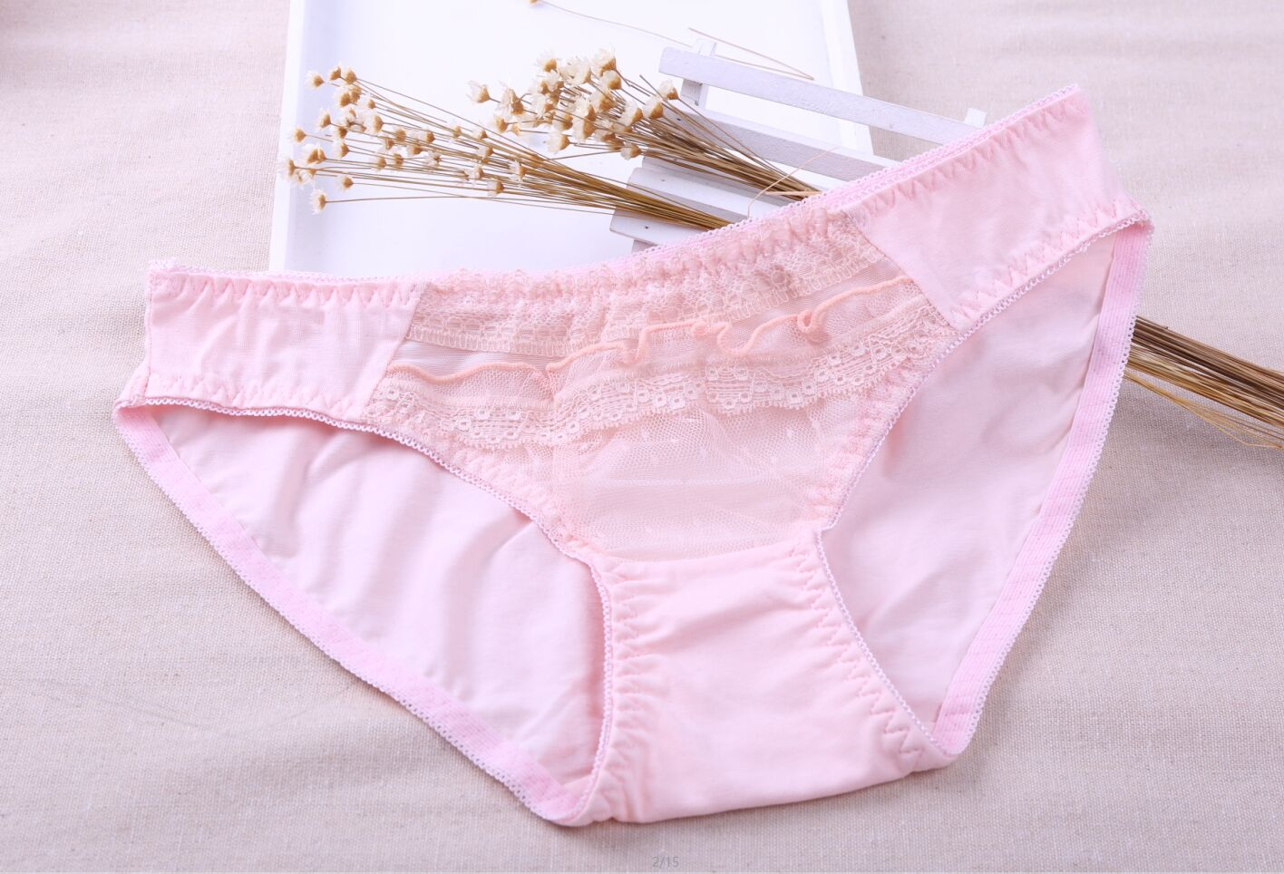 New Arrival Super Soft Seamless Women Cotton Underwear