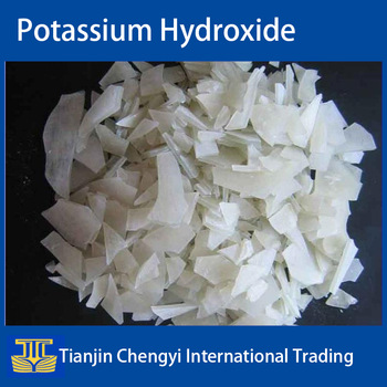China potassium hydroxide flakes price
