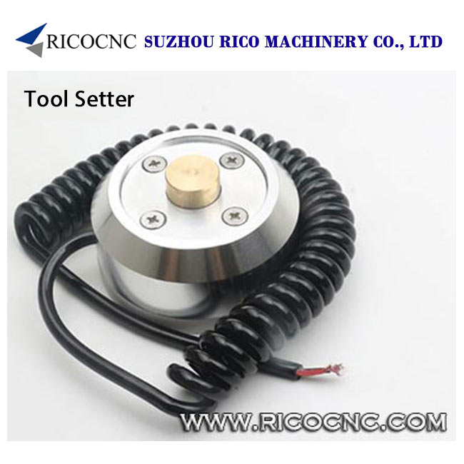 Auto Tool Setter Sensor for CNC Router Machines Z Axis Zero Pre-Setting