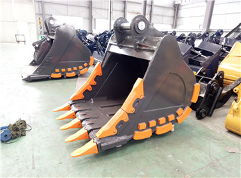 large machine excavator mining bucket for rock