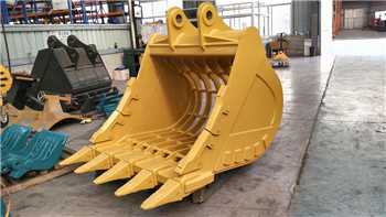 New backhoe crawler excavator sorting bucket