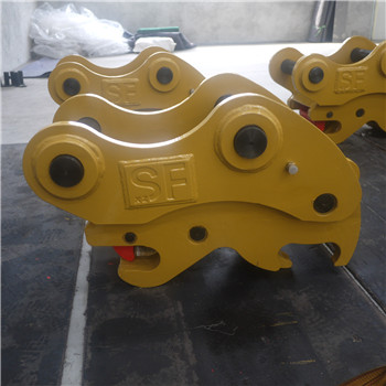 excavator double safety lock quick coupler