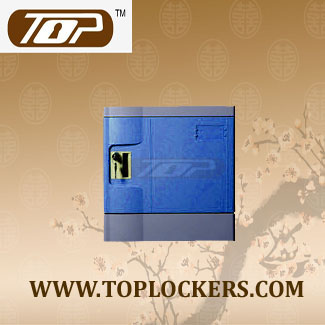 Six Tier Storage Lockers ABS Plastic, Navy Color