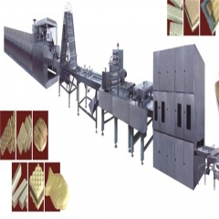 fully automatic wafer biscuit processing line