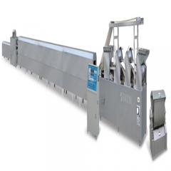 fully automatic biscuit processing line