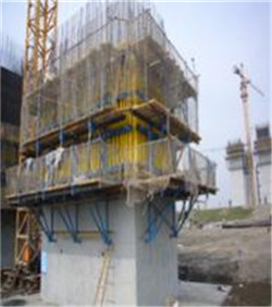 Tower crane cantilever powerless portable lifting formwork platform/system