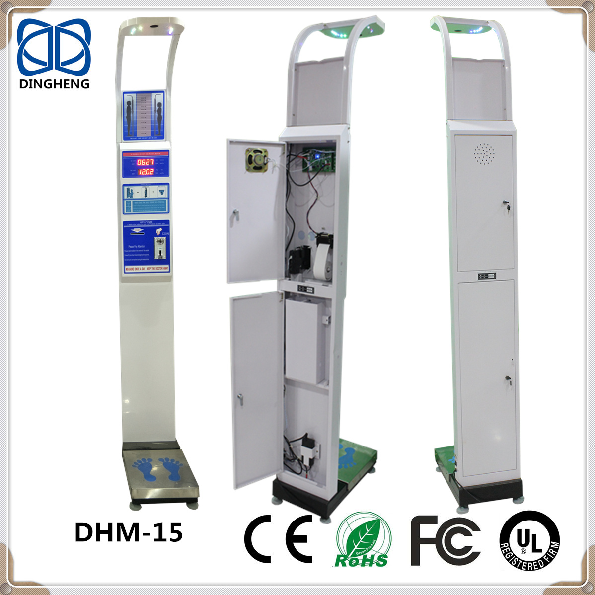 DHM-15 Digital Body Fat Analyzer eletronic weight weighing Scale with BMI function supply