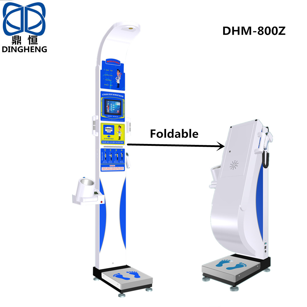 DHM-800Z Height and Weight BMI Machine Body scale Bluetooth and RS232 Connect computer with CE and RoHS Approved from China