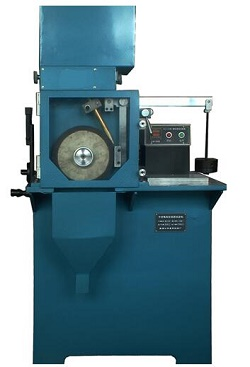 Rubber wheel abrasive wear tester