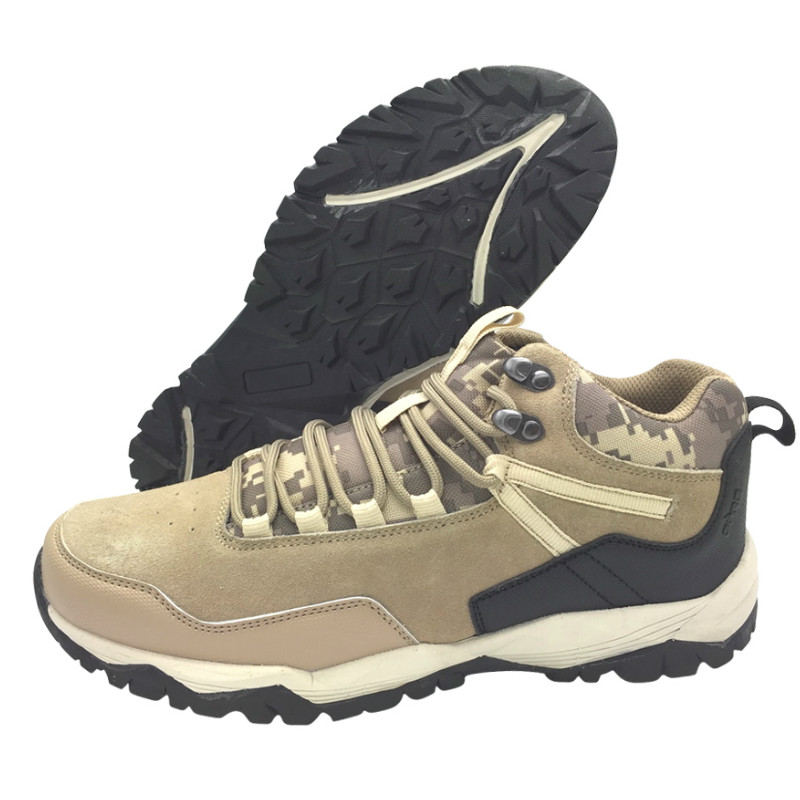 Low cut outdoor shoe with camouflage fabric(CAR-73053, BRAND: CARE)