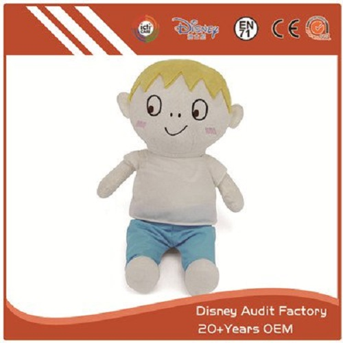 Boy Plush Animal Doll