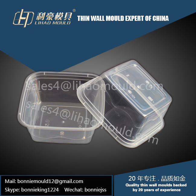 1000ml square container mould