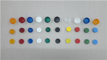 Heavy-duty PC material indicator light cover