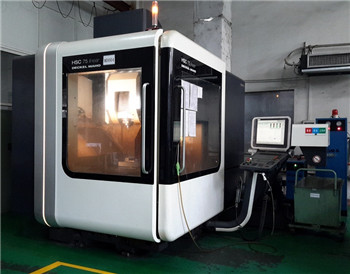 German DMG five axis CNC machine with high speed machining
