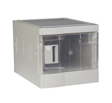 China Plastic Mini Lockers, Transparent Color