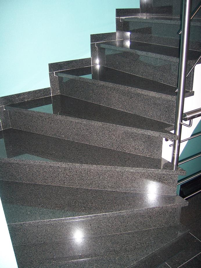 Stairs, steps and risers