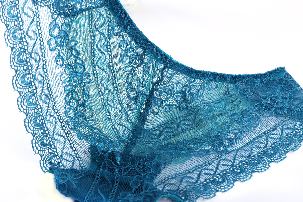 Quick dry cotton seamless lace cover best sexy ladies transparent panties