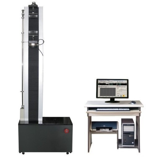 Single-arm material testing machine for various types of metal test