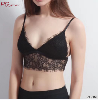 Wholesale fashionable design eyelash bras very hot sexy ladies new model latest fashion sexy bra