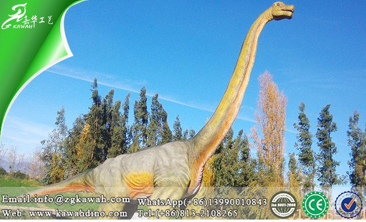 Life Size Dinosaur Models for Theme Park of 20m Brachiosaurus