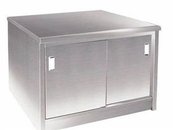 Customer-designed Stainless Steel Cabinet with removable panel, meet with NSF standard