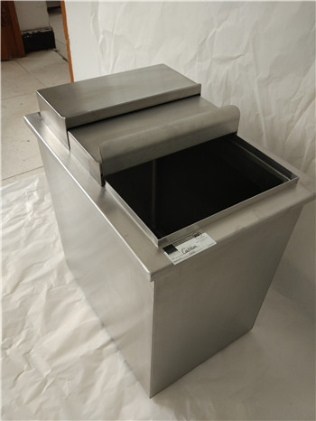 Customer-designed Stainless Steel Ice Bin with insulation wrap,meet with NSF standard