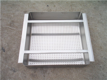 Commerical kitchen Equipment Stainless Steel Strainer Basket, with perforated holes