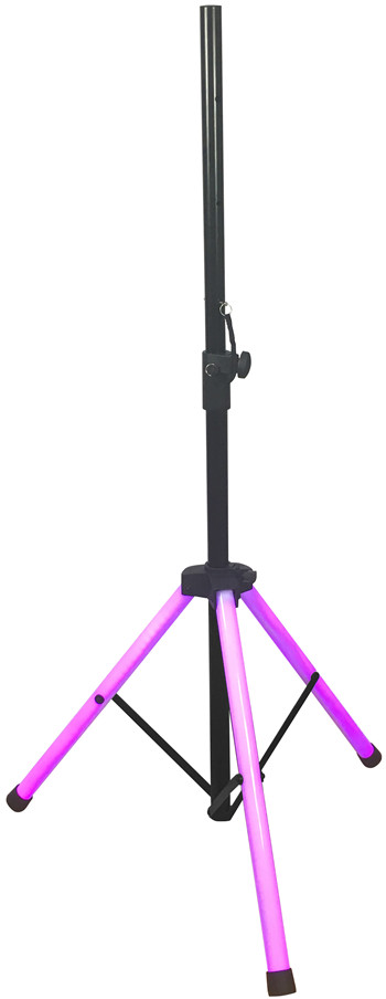 190CM HEIGHT Ultra bright RGB color speaker stand tripod with LED tubes