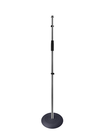 round heavy base Floor microphone stand for sale