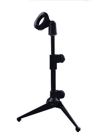 Factory Wholesale desktop mini microphone stand holder