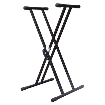 portable Double-Braced Adjustable X-Style mixer Keyboard Stand