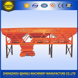 Accurate Weighing PLD Series Aggregate Concrete Batching Machine supplier