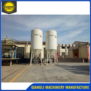 Dry Mortar Mixing Mixer Machine Production Line Plant