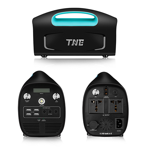 TNE solar charging port emergency electric data terminal battery UPS with  indicator light