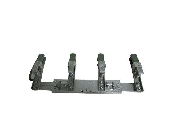 3、	blank PCB plating stainless suspension steel clamp