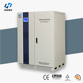 Intelligent contactless compensation type AC voltage regulator stabilizer