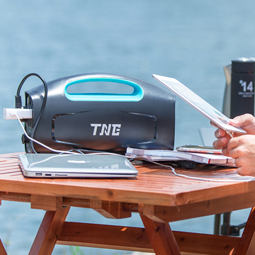 TNE solar online multifunction portable generators power bank UPS supply
