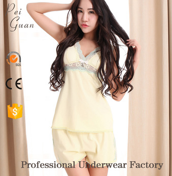 Breathable popular alibaba ladies sexy nightwear for sale