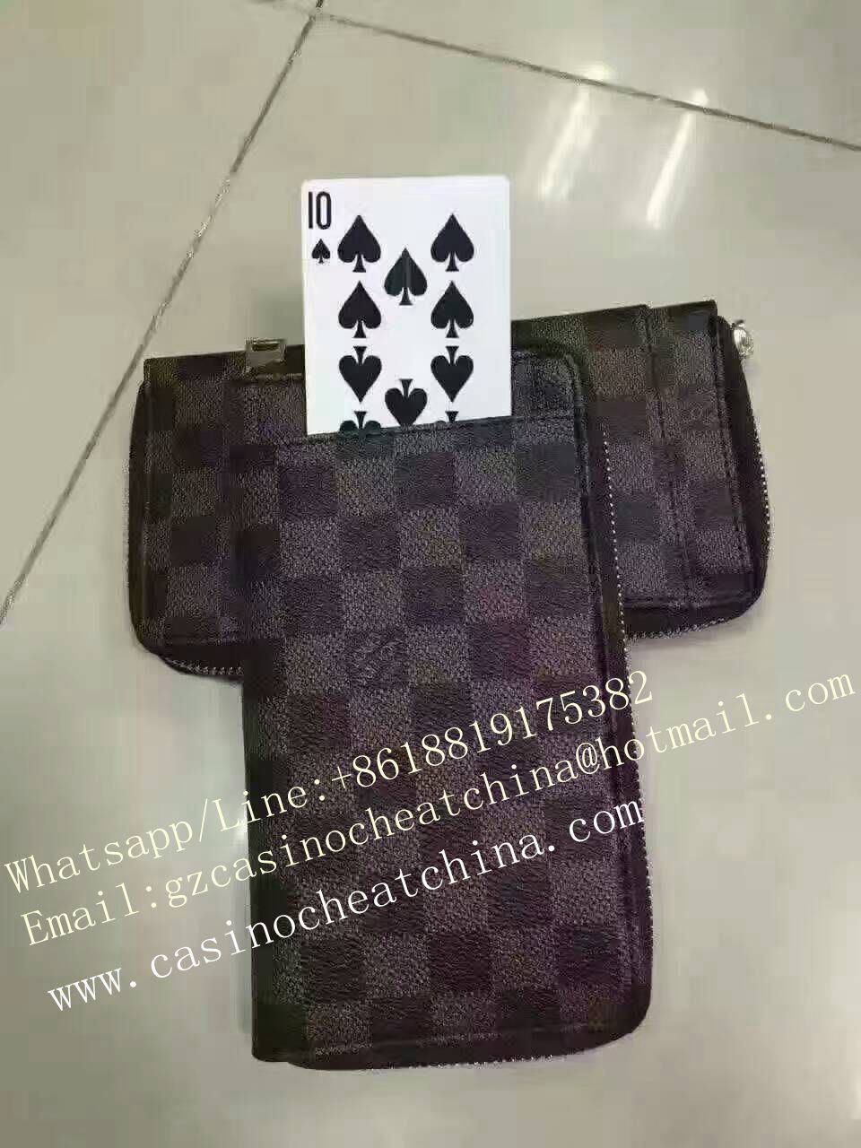 Poker exchange bag for poker cheat/cards cheat/magic trick/gamble cheating device/exchange poker/casino cheat