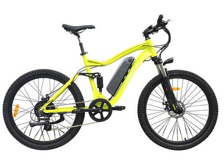 26inch rear drive panasonic 48v350w mountain full suspention electric bike
