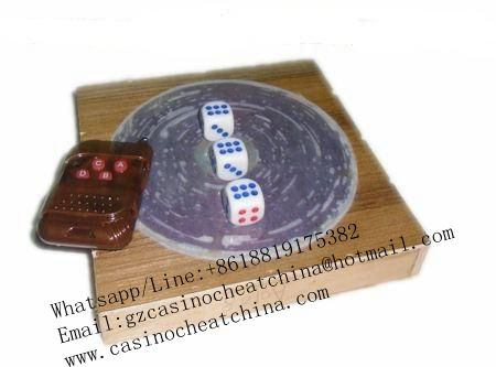 Remote control dice for dice cheat/marked dice/no magnetic dice/game cheat/gamble cheating device