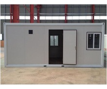 Low Price High Quanlity Flat Pack Container House for 20ft container office container house
