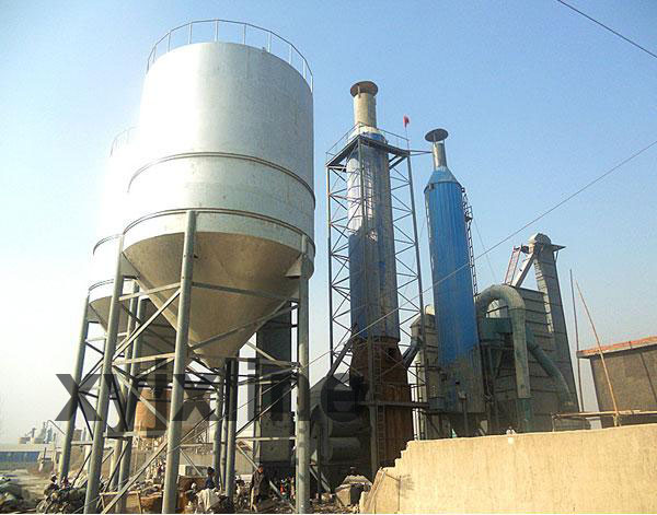 gypsum powder line machinery