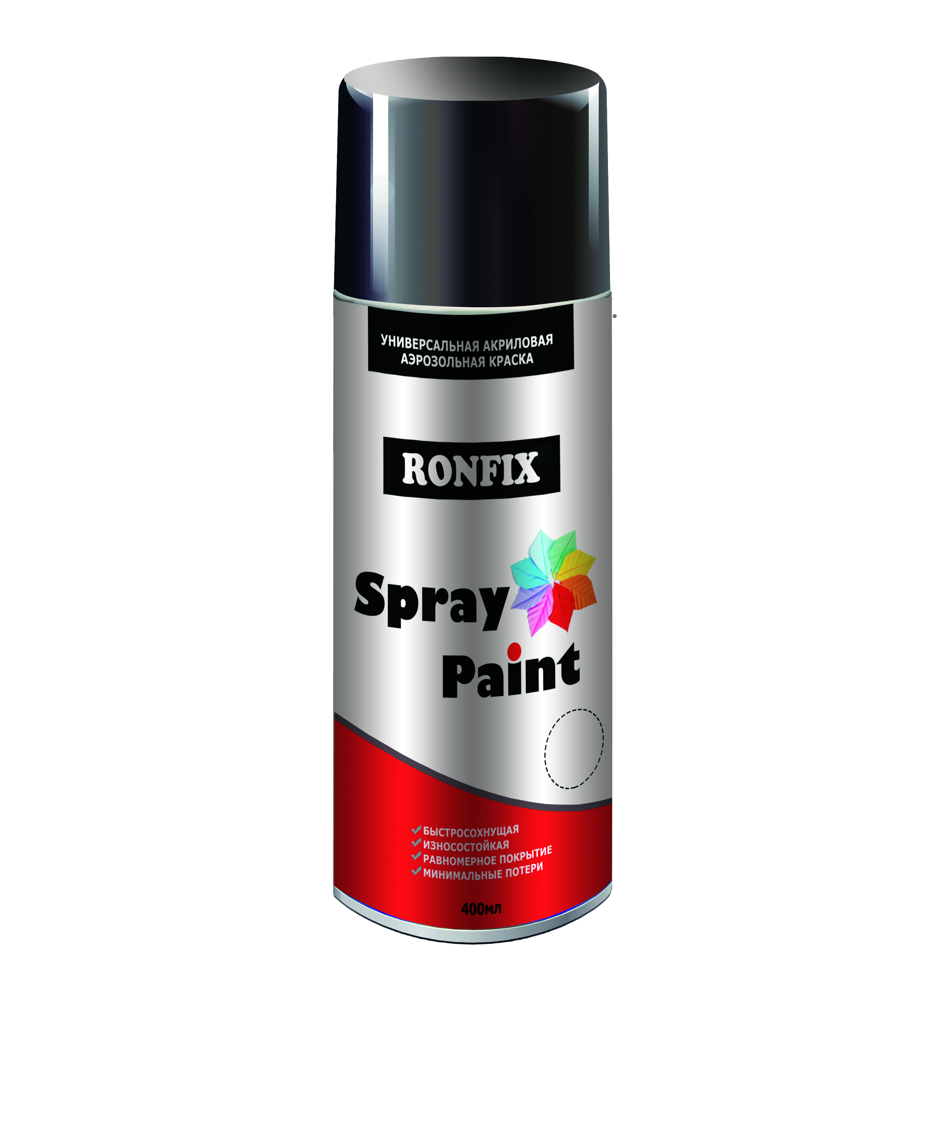 INTERIOR/EXTERIOR SPRAY PAINT RONFIX