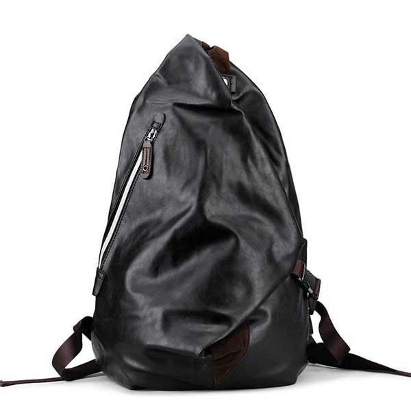 Black Male Waterproof  Backpack