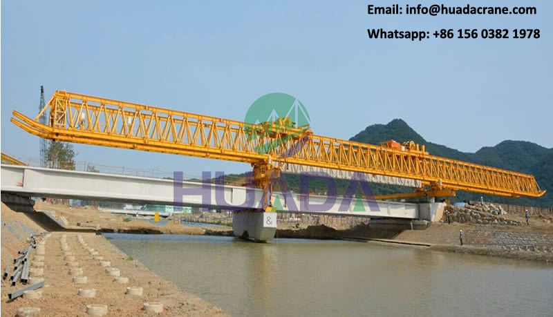 trussed type 260T girder erecting concrete high-speed railway beam launcher equipment