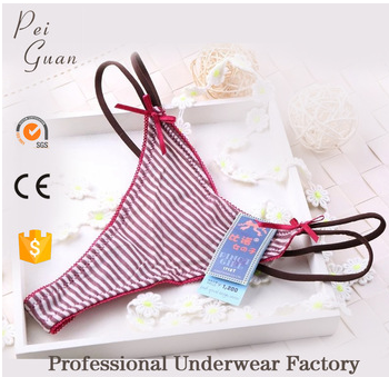 fashion mature sexy g-string panty girl's underwear for sale