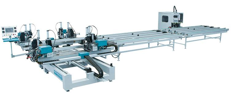 Automatic Welding/Cleaning Production Line for PVC Window and door, SHQXJ01